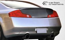 Fit Infiniti G35 2DR 03-07 Carbon Creations Carbon Fiber HD-R Trunk