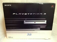 Sony PlayStation 3 60GB Backwards Compatible (CECHA01) Console Bundle PS3 w/ Box