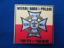 Poland ZHP Wierni Bogu i Polsce 1911-1986