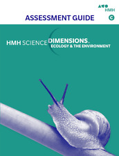 HMH Science Dimensions Assessment Guide Module C Ecology and Environment