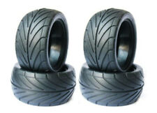 RC 1/10 Buggy Rear Robber Tires OD:83mm W/Foam Inserts 4Pcs For Rc Off Road Car