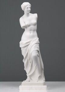 """Venus de Milo Aphrodite Statue Goddess Nude Greek Roman God Sculpture 41cm/16.1"""""""