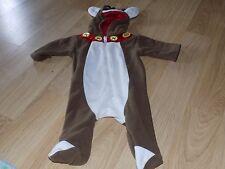 Size 3-6 Months Small Wonders Holiday Reindeer Christmas Halloween Costume EUC