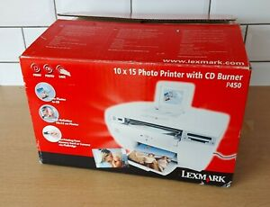 Lexmark P450 Photo Printer With CD Burner, Memory Card, Boxed, Excellent