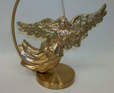 "Xl 11"" Angel with Harp Christmas Tree Ornament"