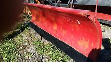 8.6 FT. WESTERN  POWER ANGLE SNOW PLOW SNOWPLOW  #3