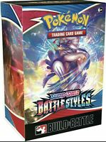 Pokémon TCG Sword & Shield Battle Styles Build & Battle Box SEALED