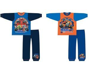 Boys Blaze and the Monster Machines Pyjamas Nightwear PJs 18 Months to 5 Years