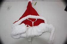 Costume Santa Hat & Neckwear  1 Piece SZ XL Washable NEW NWT