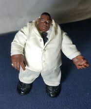 "Mezco Biggie Smalls Action Figure Toy Notorius BIG White Suit Rapper 9"""