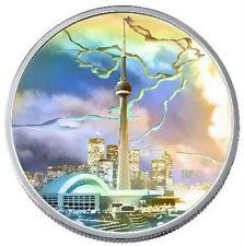 CN Tower - 2006 Canada $20 Fine Silver Coin