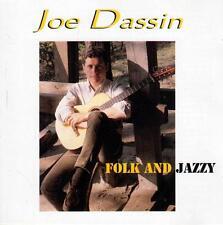 CD audio.../...JOE DASSIN.../...FOLK AND JAZZY....