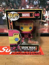 Funko POP Marvel Iron Man - Black Light - Target Exclusive