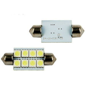 2X Car Read LED Bulb Cool White for Kenworth T660 T600 T2000 Interior Dome Light