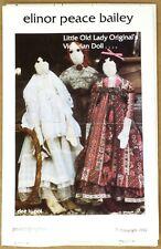 Elinor Peace Bailey - Little Old Lady Originals Victorian Doll - Uncut Pattern