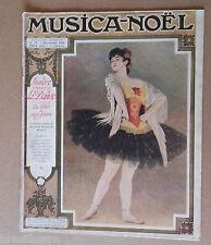 Revue : MUSICA-NOEL N°75 Décembre 1908 consacré à la danse de 1830 à nos jours