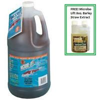 Microbe-Lift PL 1 Gallon Koi Pond Clarifier 10PLG4 + FREE Barley Straw Extract