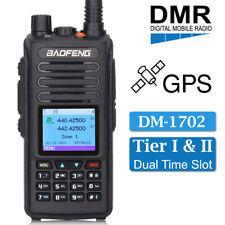 BAOFENG GPS DM-1702 Digital Analog DMR Walkie Talkie Two Way Ham Radio +Earpiece