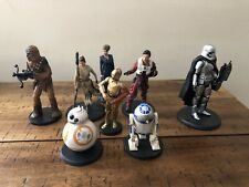 Disney Store STAR WARS - The Force Awakens Figurine Play Set  Cake Toppers 8 Pcs