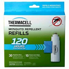 New ThermaCell Mosquito Repeller Refill - 120 Hour Mega Pack R-10