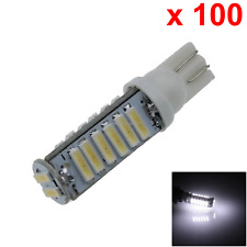 100x White Car T10 W5W Tail Bulb Clearance Lamp 20 7020 SMD LED 585 655 656 A067