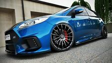 SIDE SKIRTS ADD-ON DIFFUSERS FORD FOCUS MK3 ST PREFACE & FACELIFT (2010-UP)
