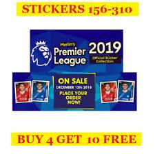 Topps Merlin's Premier League Season 2019 Single Stickers 156-310 (2018)