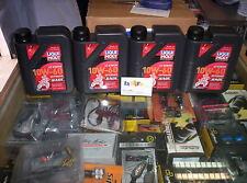 4 LITRI OLIO LIQUI MOLY MOTORBIKE 4T SYNTH OFFROAD 10W60 RACE API SL JASO MA2