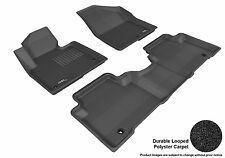 3D Anti-Skid 1 Set Fits Santa Fe 2013-2016 GTCA31466 Black Carpet Auto Parts Per