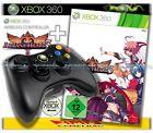 Original Microsoft Xbox 360 Wireless Controller und Arcana Heart 3 Game Neu