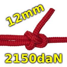 12mm Seil 2150kg rot schwimmfähig salzwassbeständig