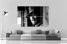 CLINT EASTWOOD  Wall Art Poster Grand format A0 Large Print 02