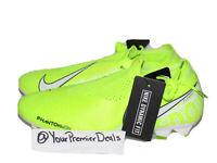 Nike Phantom Vision Elite DF FG Soccer Cleats AO3262-717 Volt White Mens Size 6