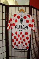 Bianchi Milano polka dot Pride cycling jersey size L .ALY