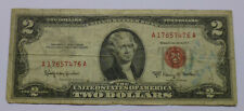 USA 2 Dollars 1963 Geldschein / 2 Dollars 1963 United States Banknote