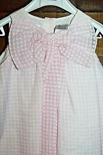 New! Sarah Louise Baby Pink Dress Girl Toddler 18 Months Boutique Polka Dots