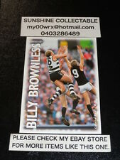 PRO SQUAD OPTUS VISION AFL COLLECTOR CARD NO.11 BILLY BROWNLESS GEELONG
