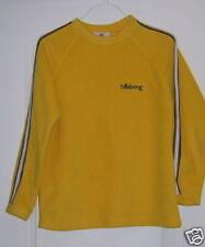 Billabong Women's Shirt/Top Size 10 Yellow Fleece