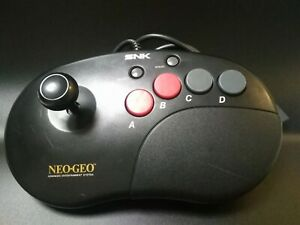 Neo Geo CD AES CDZ Joystick Controller Pro Arcade Stick SNK Tested from Japan