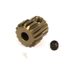 16T Titanium coated aluminium 48dp pinion gear for 1:10 RC  16 tooth 48 pitch.