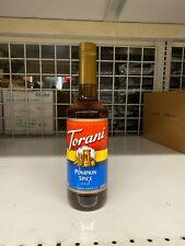Torani Pumpkin Spice Syrup 750 ml