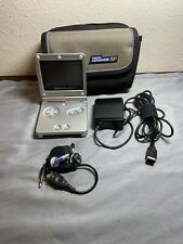 Nintendo GameBoy Advance SP AGS-001 Silver Handheld System with Charger