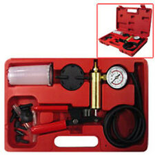 Brake Bleeder Vacuum Pump Test Kit Gauge Auto Tool New