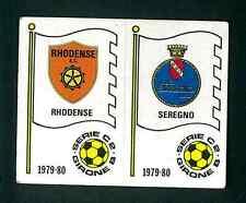 Fig. Calciatori Panini 1979-80 N.552 Scudetti Rhodense/Seregno! Nuova Non Comune
