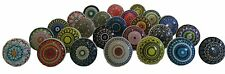 12x mix vintage look Flower pomelli in ceramica maniglia cassetto (L3B)