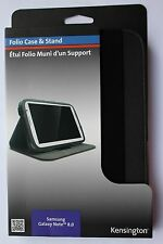 Kensington Folio Case & Stand Samsung Galaxy Note 8.0 Nero k44406ww