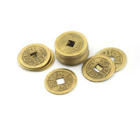 20x Feng Shui Coins 2.3cm Lucky Chinese Fortune Coin I Ching Money Alloy Hot UUM