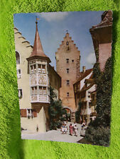 Alte Ansichtskarte Meersburg am Bodensee Obertor + Bären Hans Hartz Hans Andreas