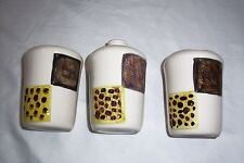 ceramic animal print toothbrush holder tumbler soap dispenser with out pump