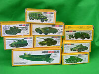 .AIRFIX 1/72 HO-OO SCALE MILITARY VEHICLE, BOXED MULTI-LISTING